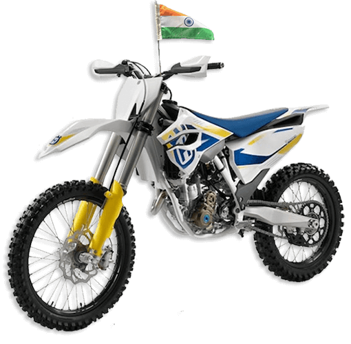 the flag corp indian flag for bikes motorcycles or bicycles