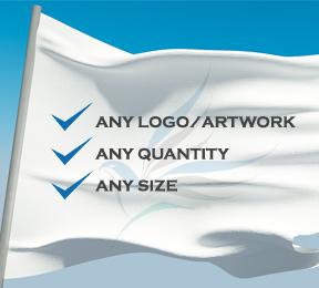 Any Logo Flags, Any Size & Any Quantity