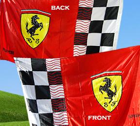 Official Ferrari Formula 1 Flags