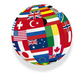 Globe Flags of the World