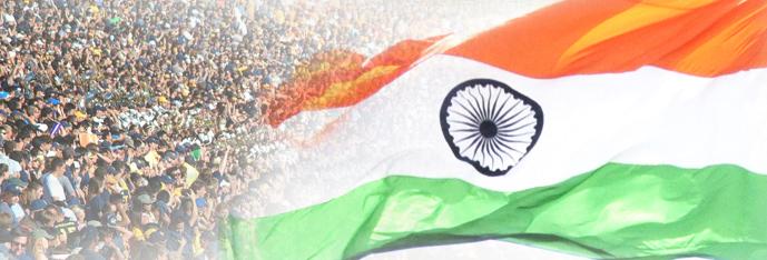 Monumental Giant Size Indian Flag