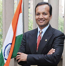 Naveen Jindal from The Flag Foundation of India