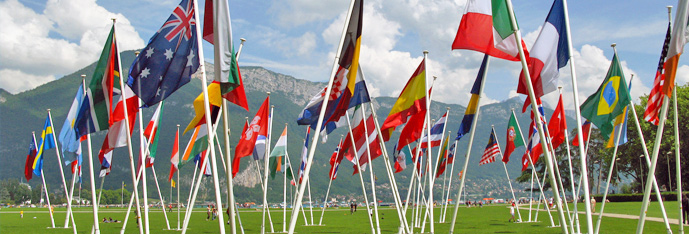 Outdoor National Flags by The Flag Shop