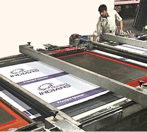 Mumbai Indians Screen Printed Flags