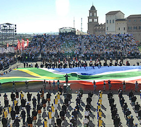 South Africa Giant Flag At Monte Casino