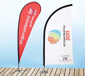 Teardrop Flags, Feather Flags, Blade Flags or Beach Flags