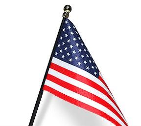 Best USA Miniature Flag Laser Cut